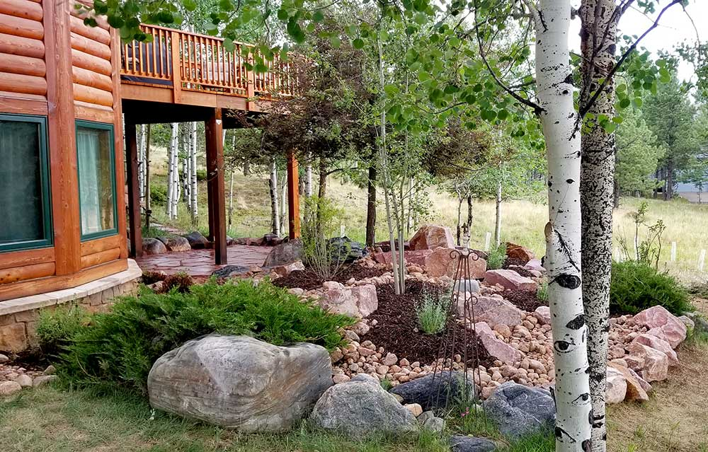 Customized Landscape Design, Landscaper Woodland Park Landscaping, Mountain High Creations, Personalized Outdoor Living Space Randy Railey