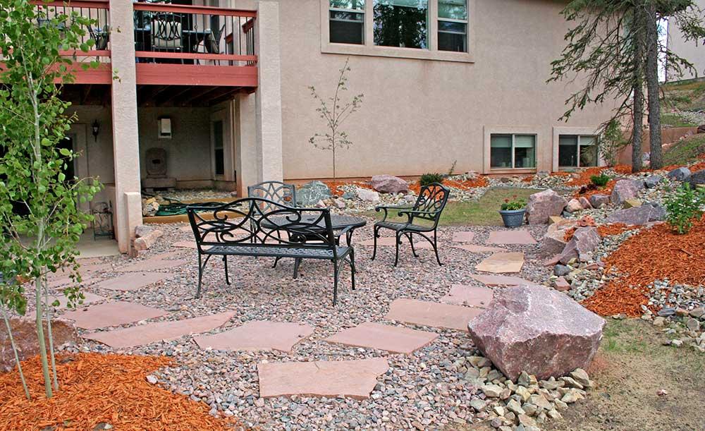 Creative Landscape Designs Woodland Park Colorado Mountain ... on Backyard Rockscape Ideas id=71242