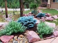 Landscaper Woodland Park Landscape Design, Landscaping, Mountain High Creations, Outdoor Living Space